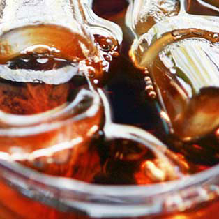 Iced Tea Close Up