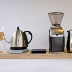 Kettle, Scale and Grinder