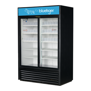 Large Double Door Cooler