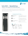 Waterlogic 500 Spec Sheet