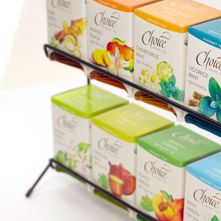 Choice Organic Tea Display