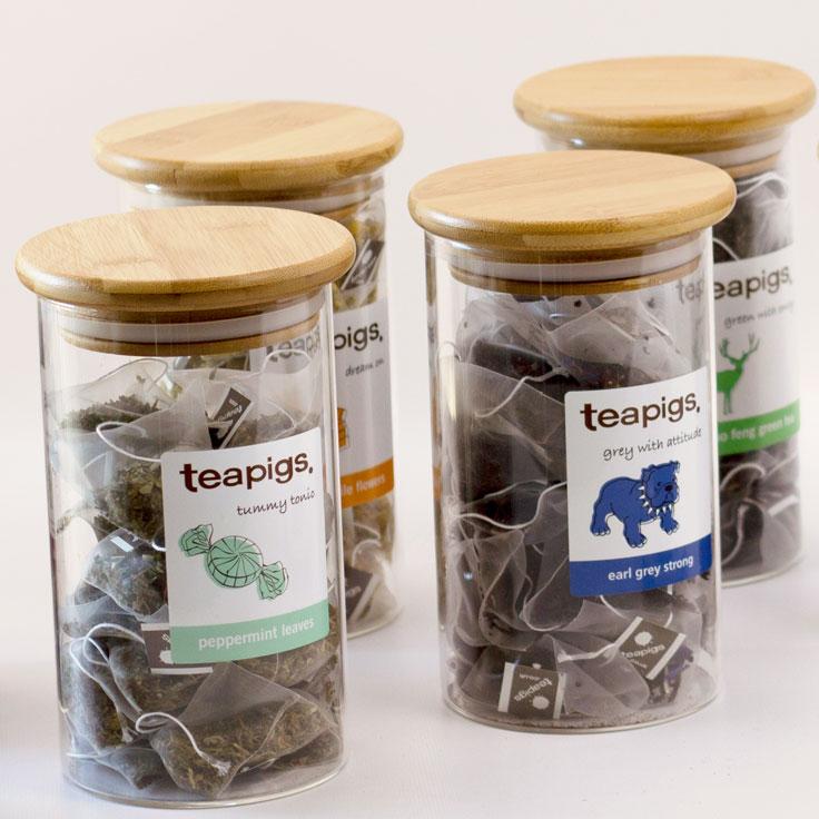 Tea Pigs Tea Canisters