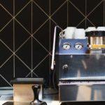Espresso Machine in Office Kitchen